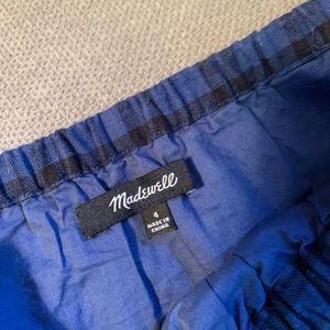 Madewell Flannel Dress
